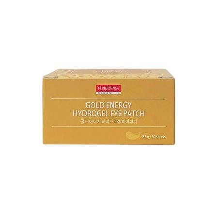 Paakių pagalvėlės Purederm Gold Energy Hydrogel 60 vnt
