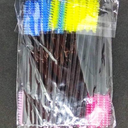 Šepetėlis blakstienoms, įvairių spalvų, CC Lashes