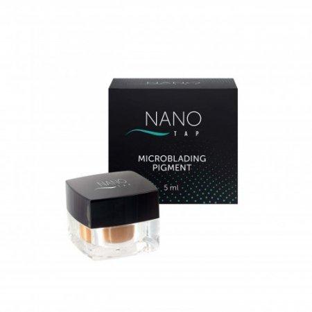 Nano Tap microblading pigmentas rudas (brown)