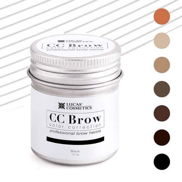 CC Brow henna antakių dažai 10 g indelis