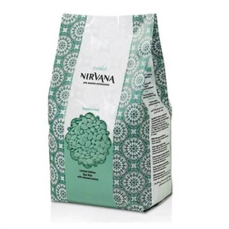Granulinis (plėvelinis) karštas vaškas Italwax Nirvana Sandalwood, 1 kg