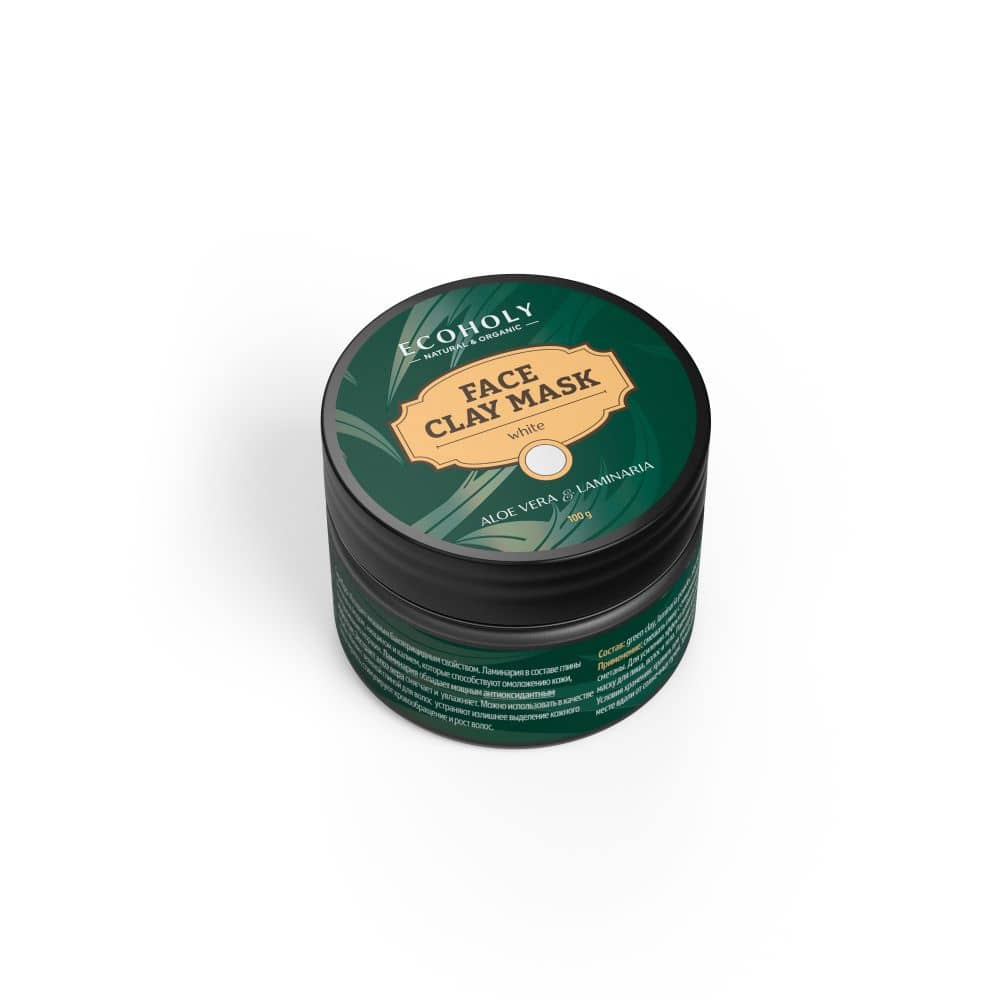 Baltasis molis su laminarija ir guaranos ekstraktu
